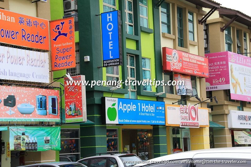 Apple 1 Hotel Penang Pulau Pinang