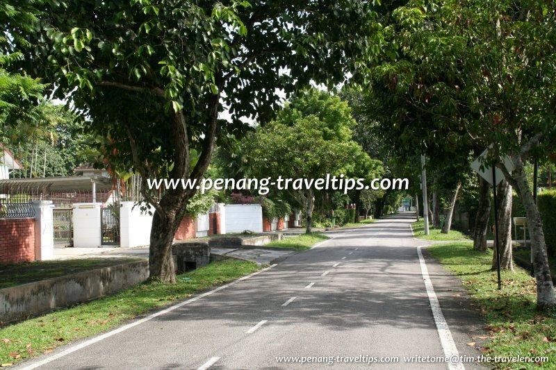 Park Road in the Ayer Rajah neighbourhood