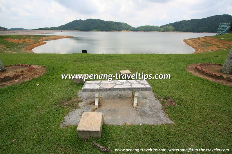 Bench at Mengkuang Dam
