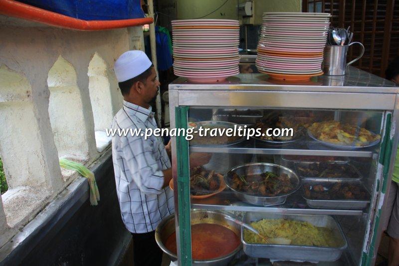 Beratur Nasi Kandar stall