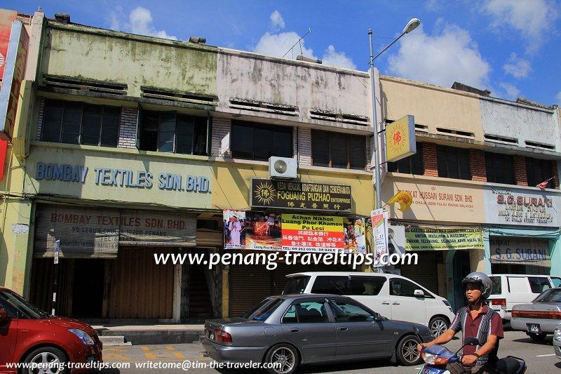 Bombay Textiles, Chulia Street, George Town