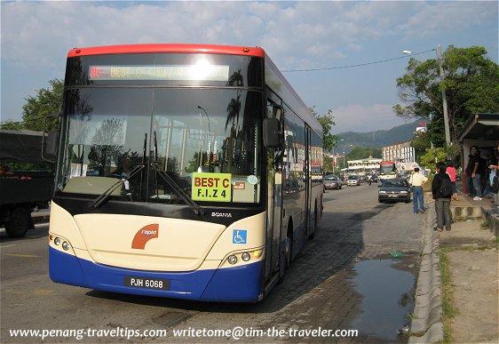 Bridge Express Shuttle Transit bus