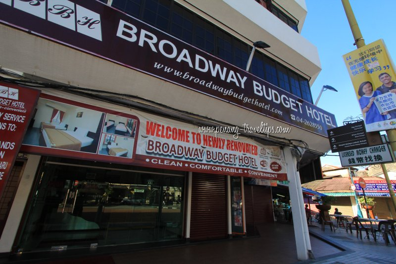 Broadway Budget Hotel George Town Penang