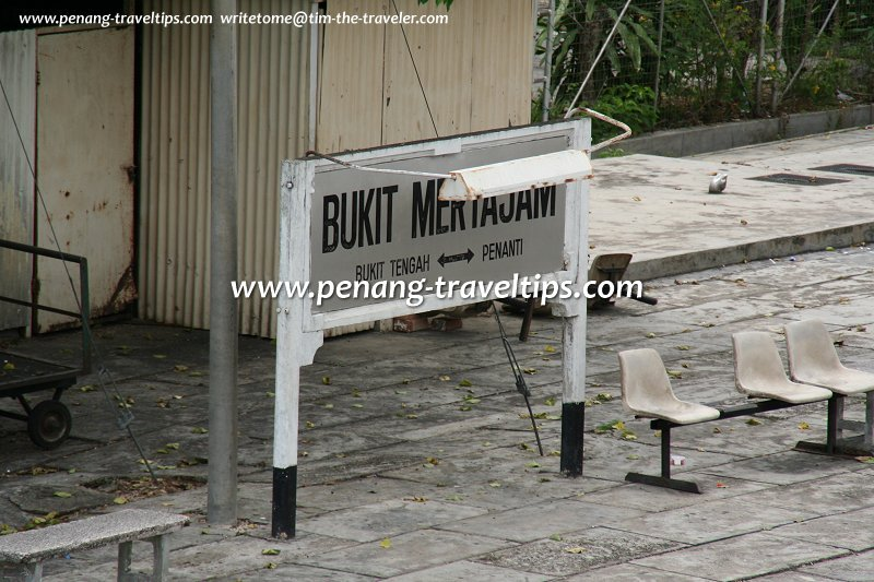 Bukit Mertajam Destination Board