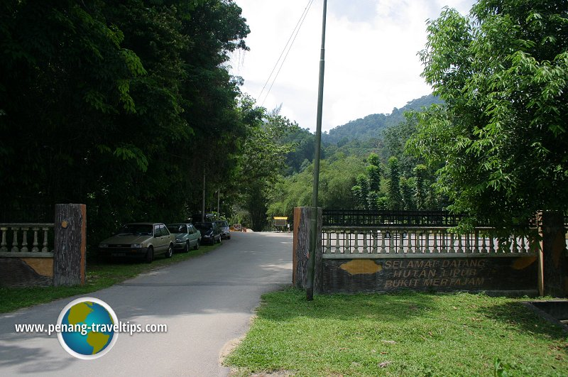 Bukit Mertajam Recreational Forest entrance