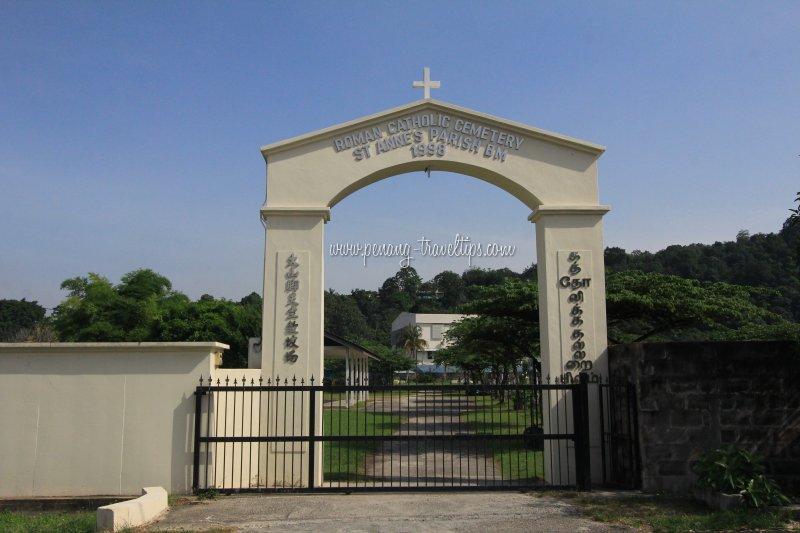 Bukit Mertajam Roman Catholic Cemetery