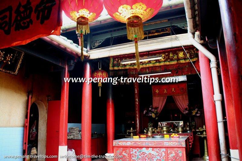 Bukit Mertajam Tua Pek Kong Temple main prayer hall