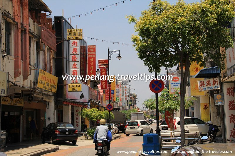 Campbell Street Lebuh Campbell George Town Penang