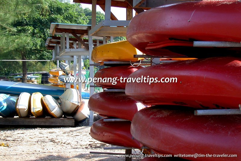 Canoes, Penang Water Sports Centre