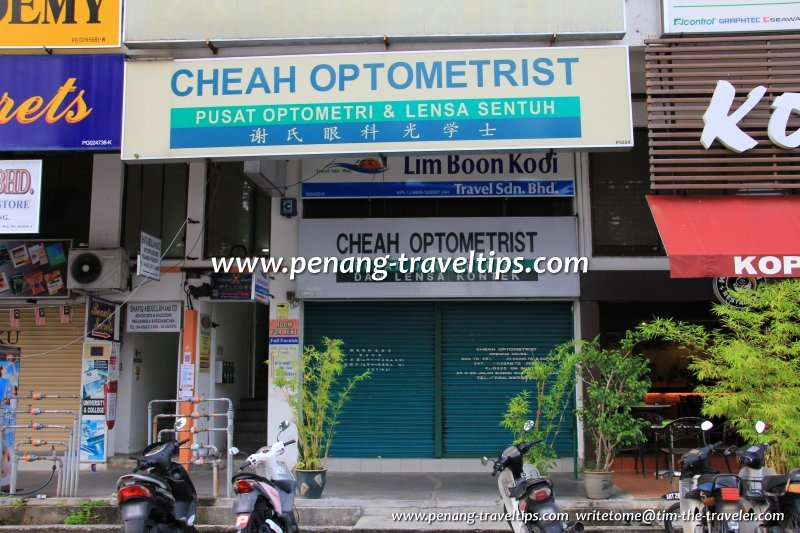Opticians, Optometrists & Optical Centres in Penang