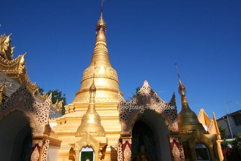 Dhammikarama Burmese Buddhist Temple, George Town, Penang ...