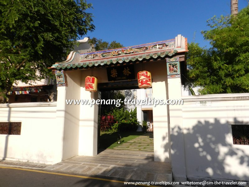 The Chinese Gate of 23 Love Lane