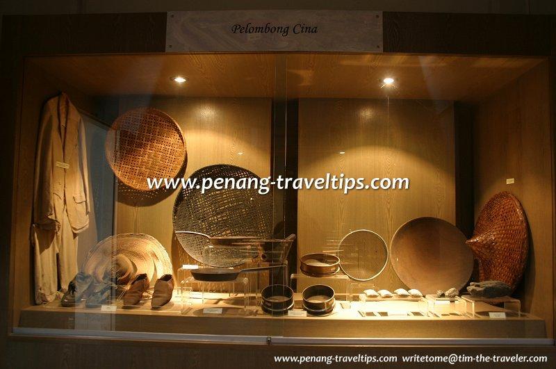 Chinese mining tools, Ngah Ibrahim's House, Kuala Sepetang near Taiping