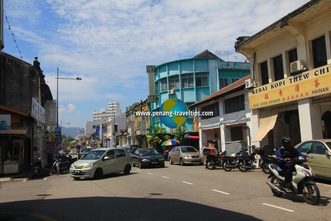 Chulia Street (Lebuh Chulia), George Town, Penang