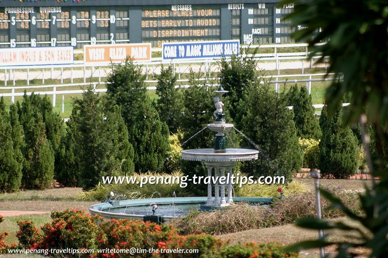 Chung Thye Phin Fountain, Penang Turf Club