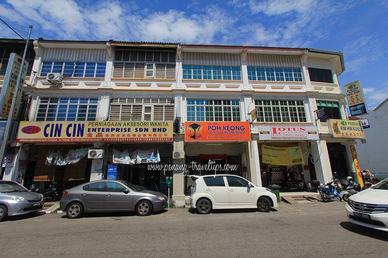 Cin Cin Enterprise, Chulia Street