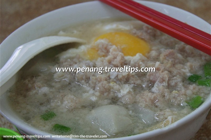 The famous Cooked Koay Teow Th'ng ...