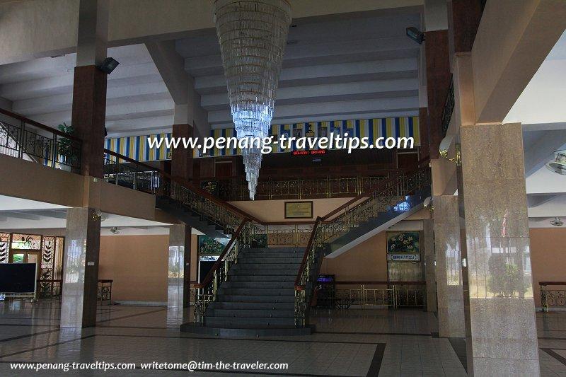 Foyer of Dewan Sri Pinang