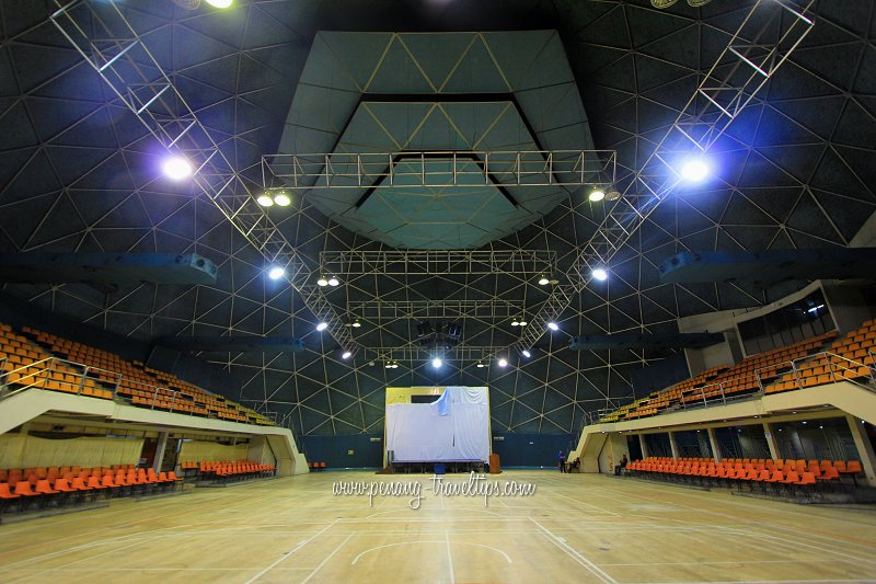 Dewan Tunku (Geodesic Dome), Komtar