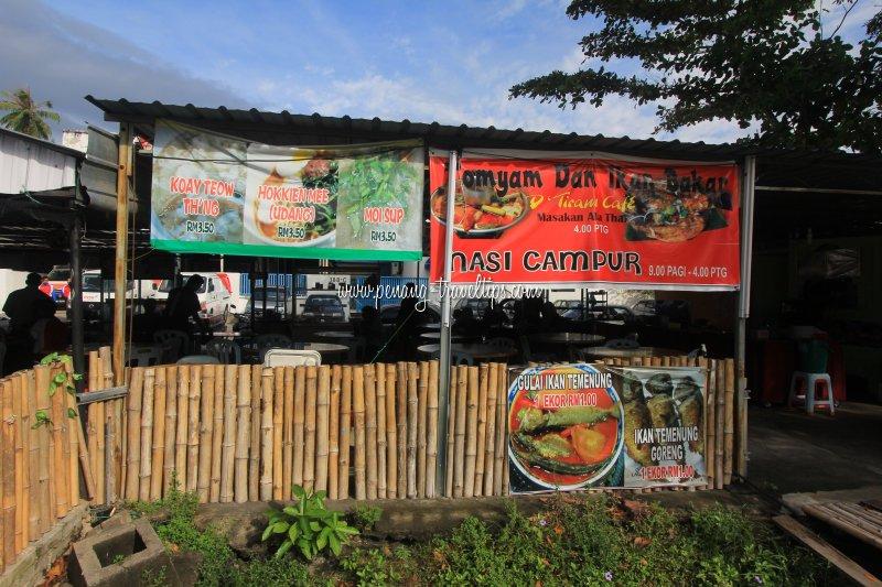 D'Tiram Cafe, Sungai Tiram, Penang