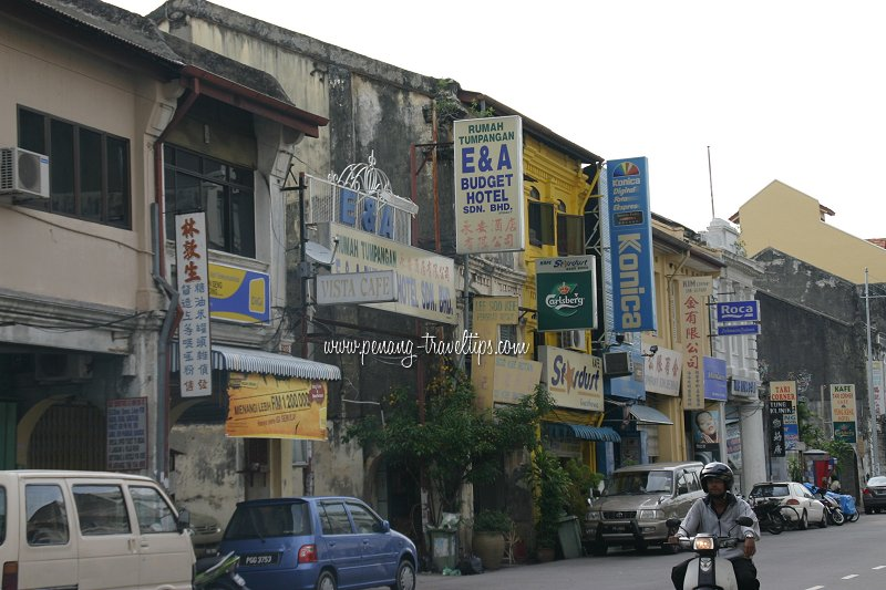 E A Budget Hotel Chulia Street