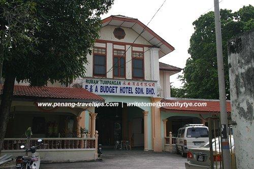 E A Budget Hotel