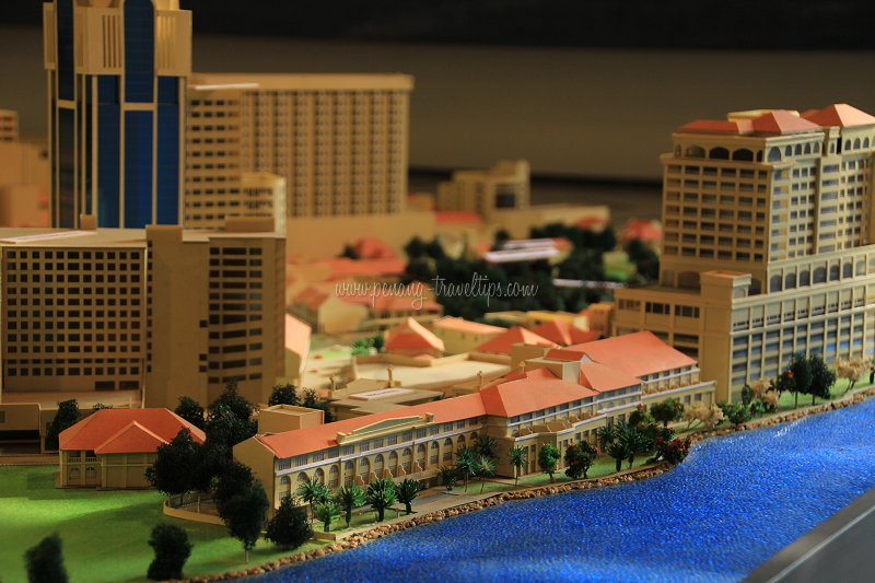 Eastern and Oriental Hotel 3D model