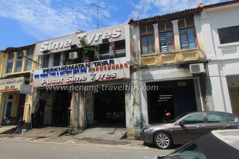 Eng Thong Tyre & Battery Sdn Bhd, Rope Walk