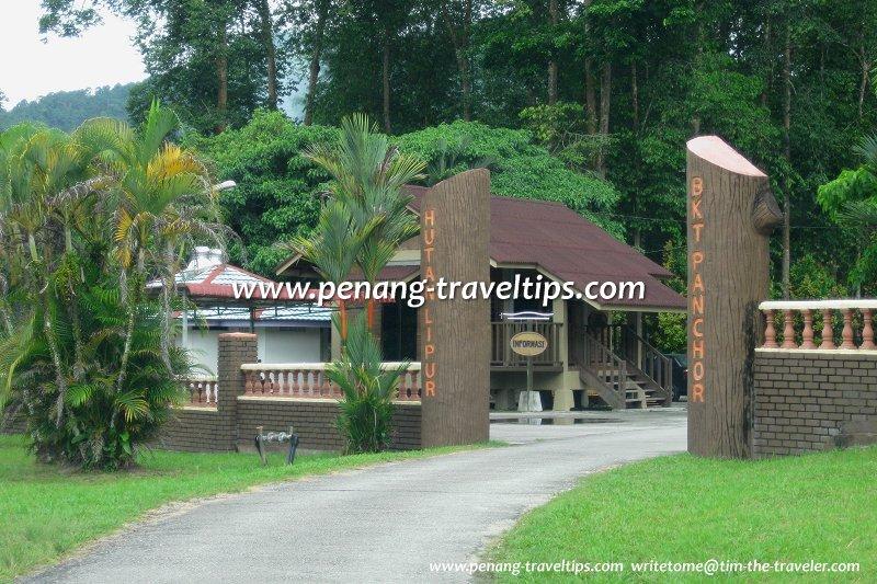 Entrance to Hutan Lipur Bukit Panchor