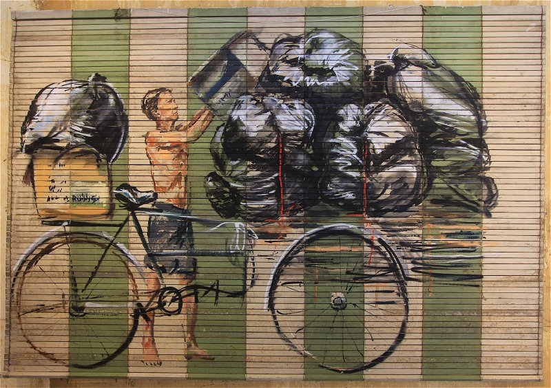 Ernest Zacharevic: Recycle