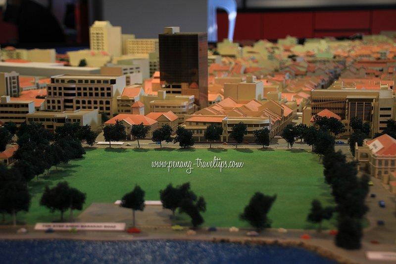 Esplanade parade ground 3D model
