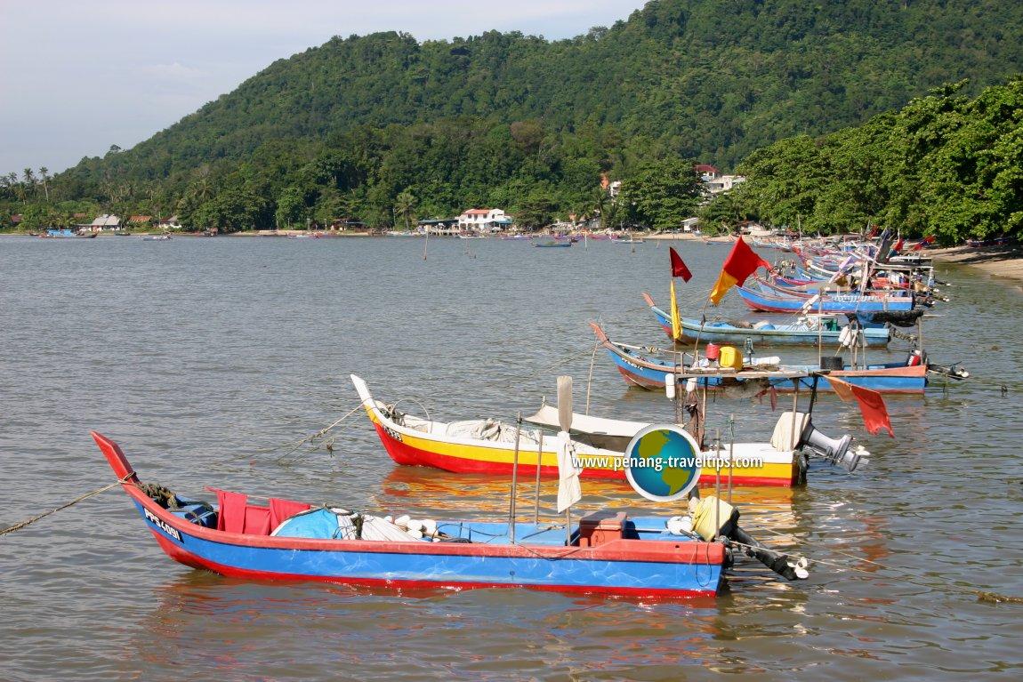 Fishing boats, Teluk Kumbar