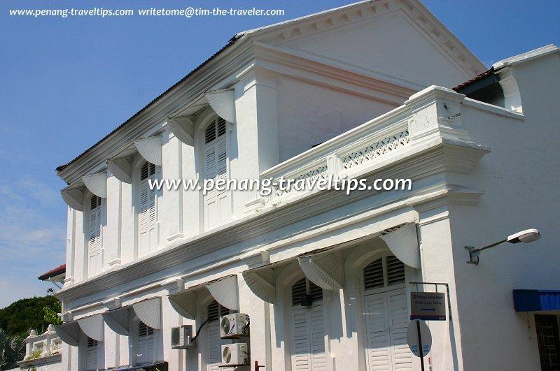Foo Tye Sin Mansion, windows