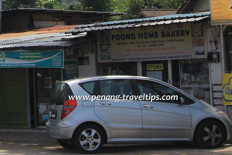 Foong Home Bakery, Balik Pulau