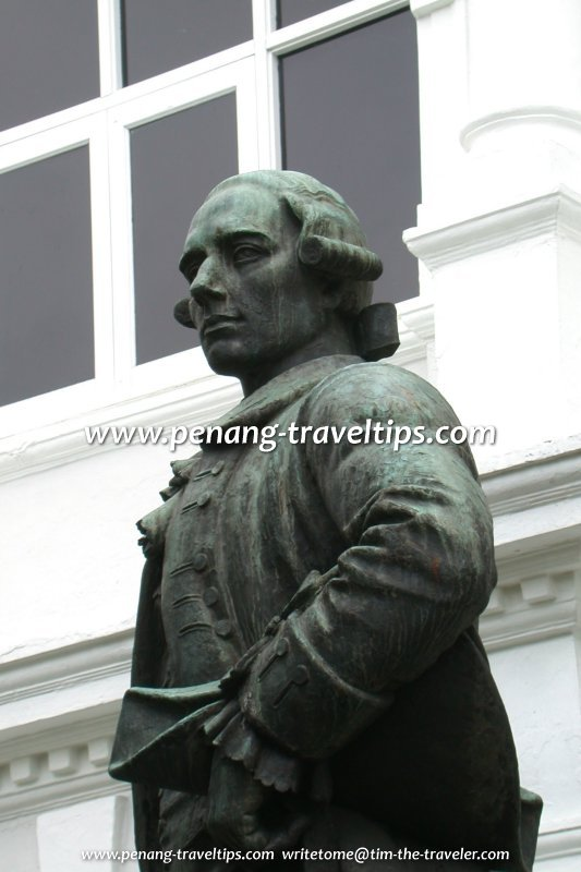 Francis Light Statue