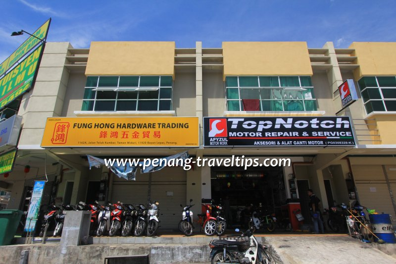Fung Hong Hardware Trading, Teluk Kumbar