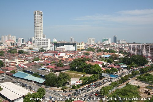 George Town city view