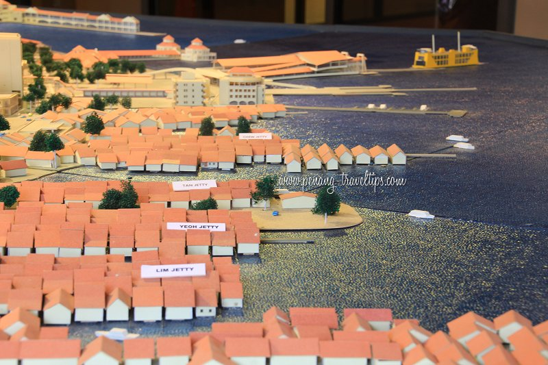 George Town Waterfront 3D model