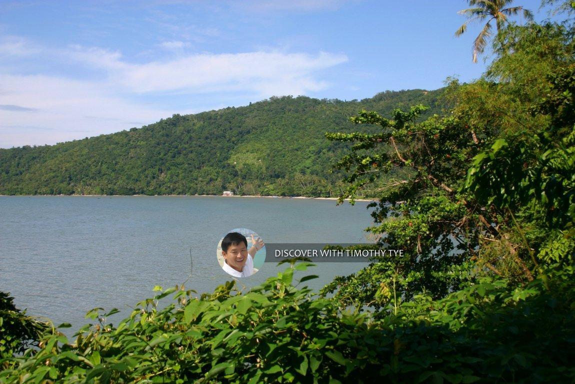 The bay of Gertak Sanggul