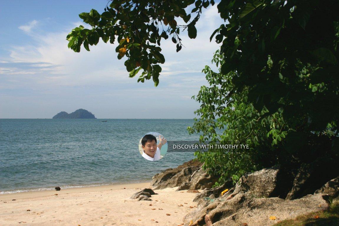 View of Pulau Kendi from Gertak Sanggul