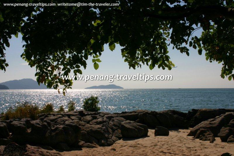 View of Pulau Rimau from Gertak Sanggul