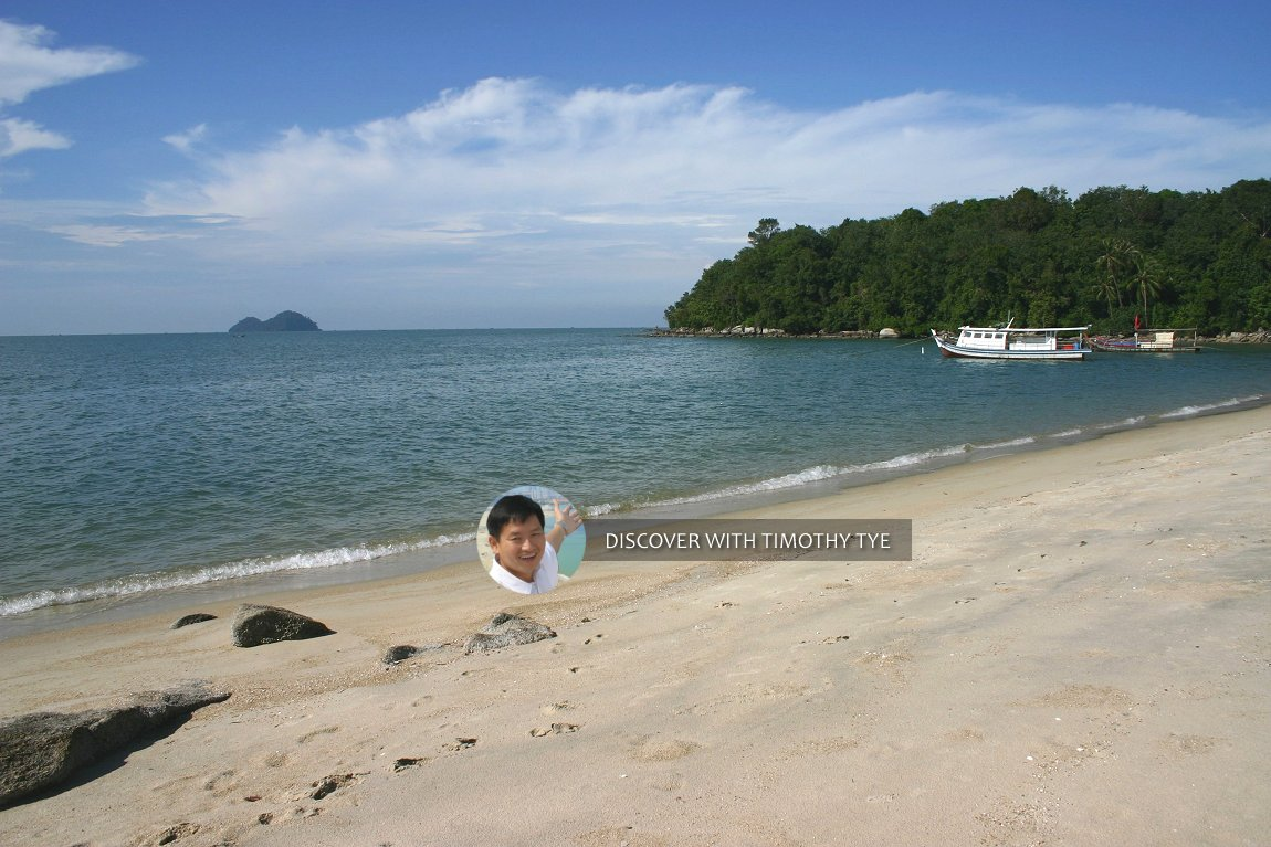 Gertak Sanggul seashore