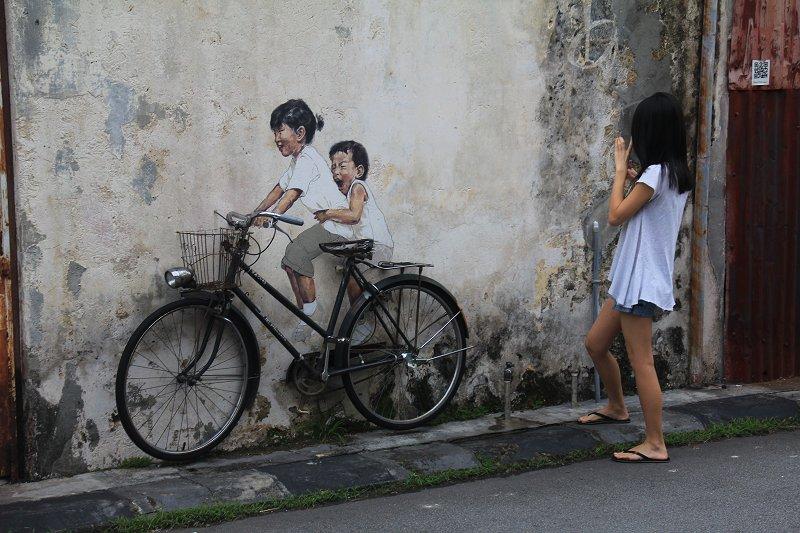 Girl shooting little girls
