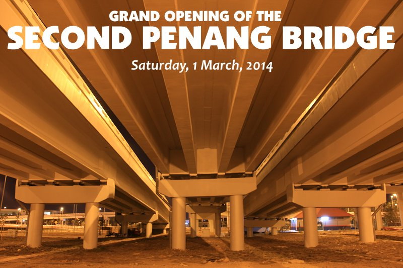 Grand Opening of the Second Penang Bridge