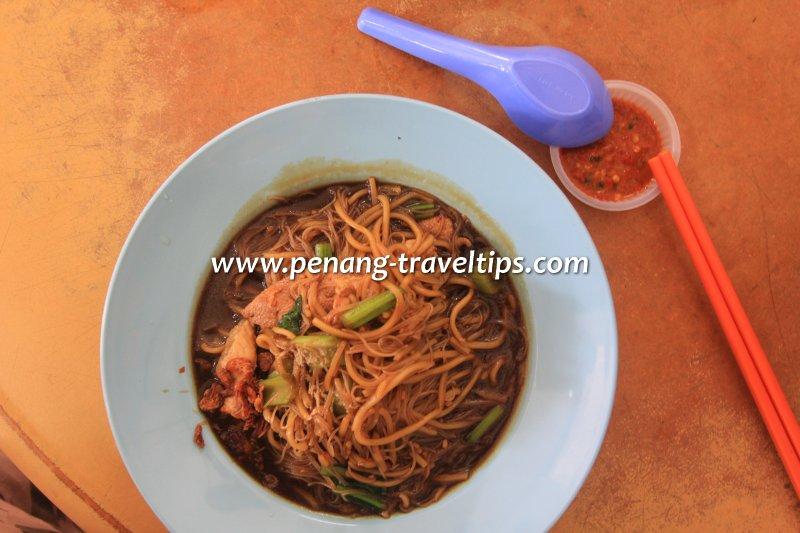 Hokkien Char at Kedai Kopi Ho Ping