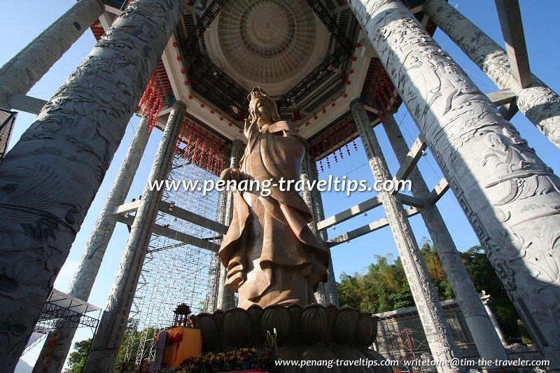 In the Kuan Yin pavilion