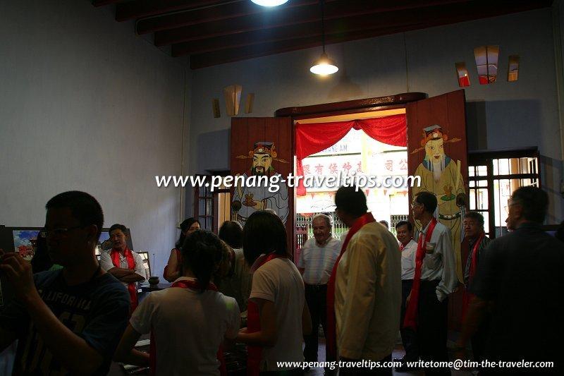 Interior of Meng Eng Soo