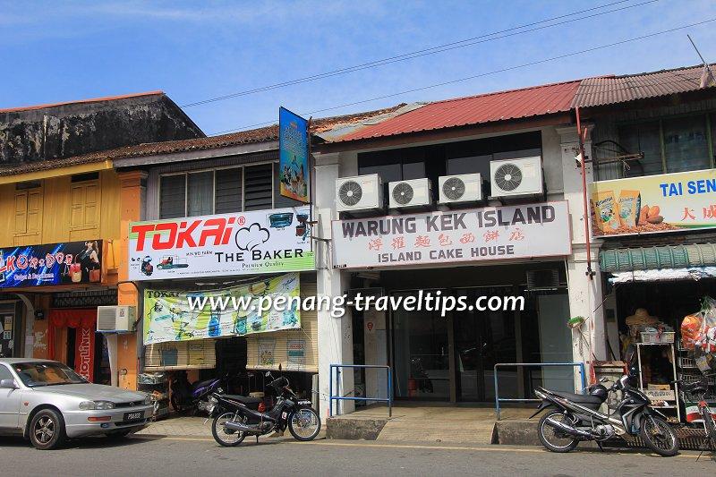 Island Cake House, Balik Pulau