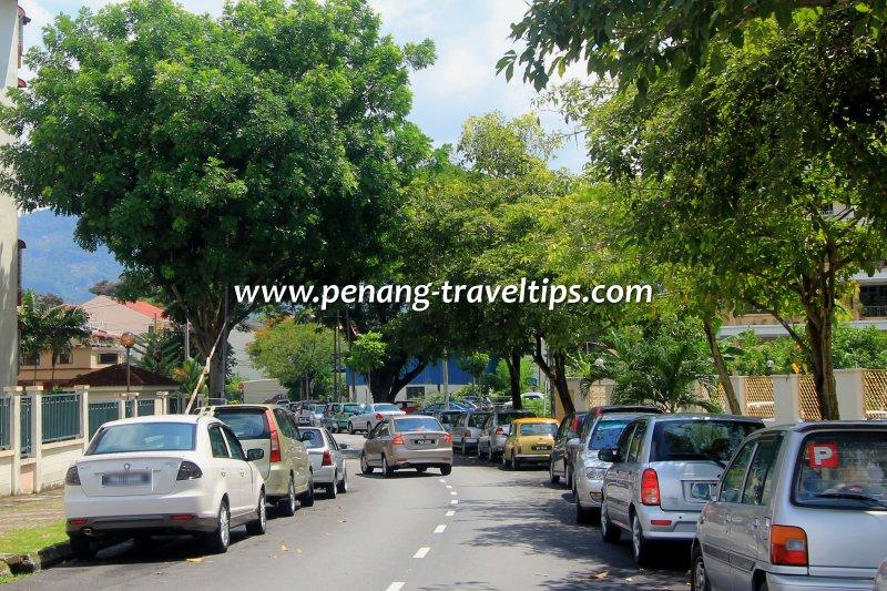 Jalan Abdullah Ariff, Air Itam