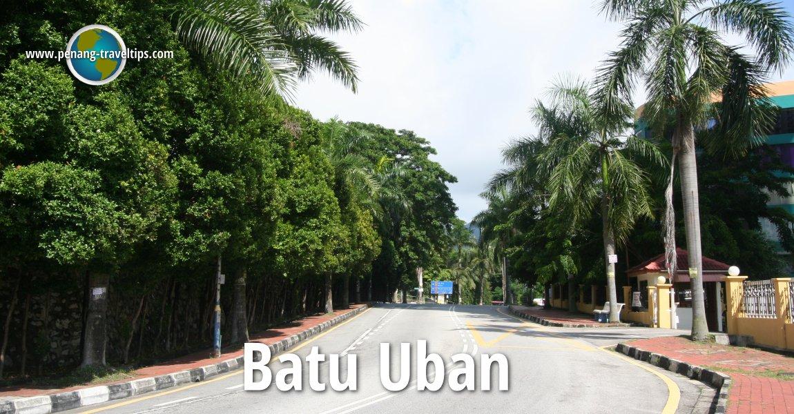 Jalan Batu Uban